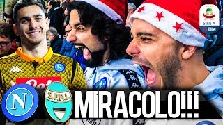MIRACOLO!!! NAPOLI 1-0 SPAL | LIVE REACTION SAN PAOLO 4K