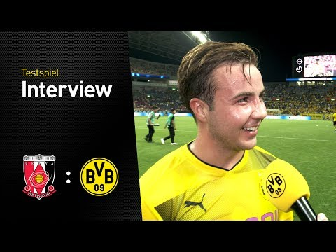 Mario Götze im Interview nach seinem Comeback | Urawa Red Diamonds - BVB 2:3