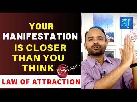 How To Know Your Manifestation is closer than you think - 5 Law of Attraction Signs For You