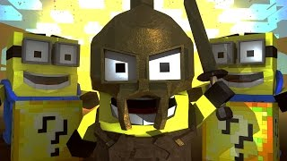 Minecraft | Lucky Block Boss Challenge - Minions Movie Apocalypse! (Atlantis Roleplay)
