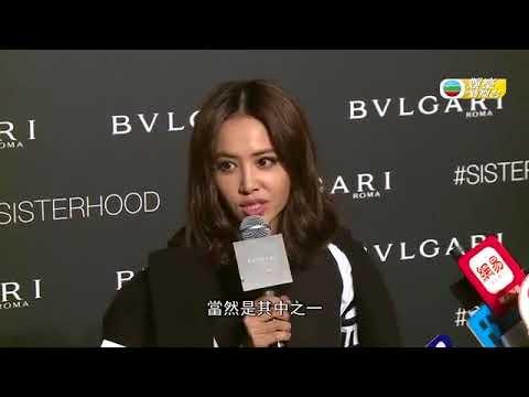 2017-09-02 TVB娛樂新聞台-Jolin與Bella Hadid出席活動 大讚好友性格獨立