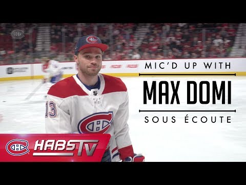 MIC'D UP: Max Domi at Skills Competition