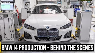 This is how tнe BMW i4 is built at Plant Munich