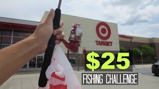 $25 Target Fishing Challenge!! (Unexpected!)
