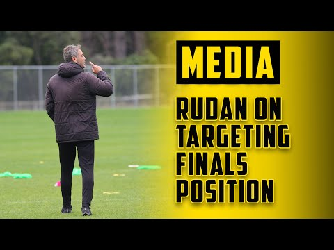 MEDIA | Mark Rudan On Finals Aspirations
