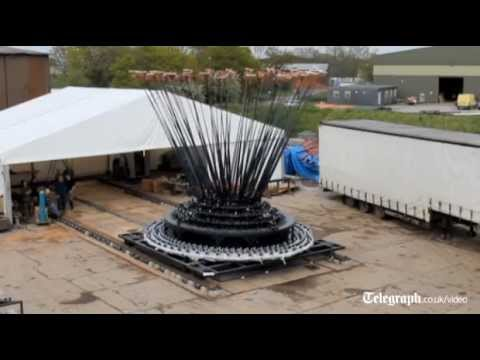 How the Olympic cauldron was made