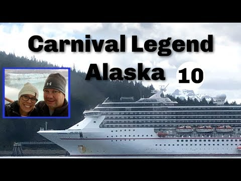 Carnival Legend To Alaska Cruise Vlog 10 | Glacier Bay | Glaciers | Seals| Time Lapse