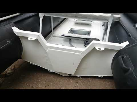 Обзор лодки РИБ VOYAGE 420 алюминиевый.
