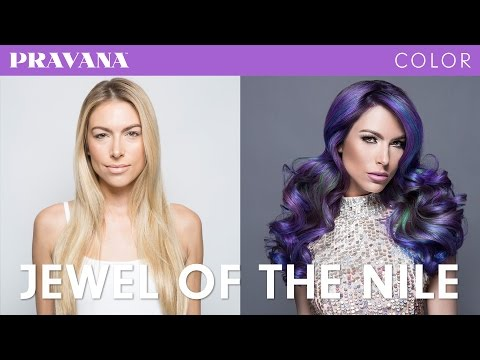 How-To | Purple Hair Jewel Technique with PRAVANA VIVIDS Jewels