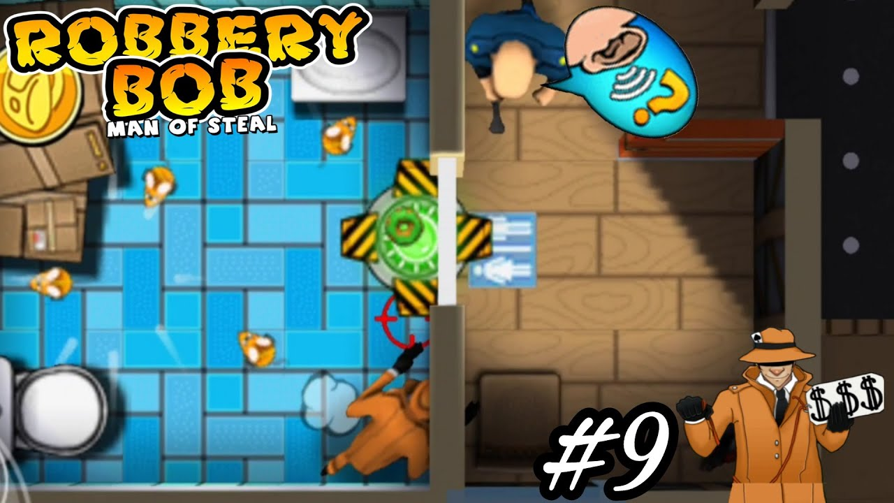 Robbery Bob - Advanced - Use Dealer Costume Perfect Part 9