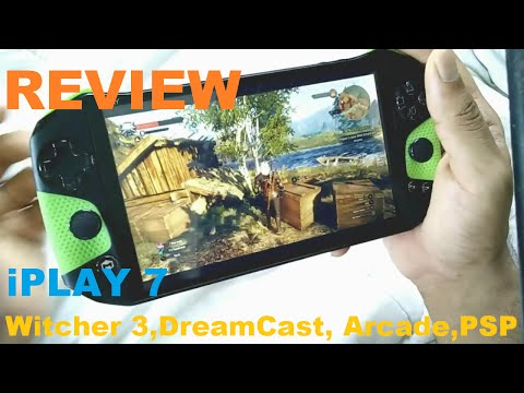 Tegra iplay 7 Handheld Review (Witcher 3, PSP,DC, Mame): Almost there!