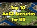 Top 10 AoE2 HD Custom Scenarios