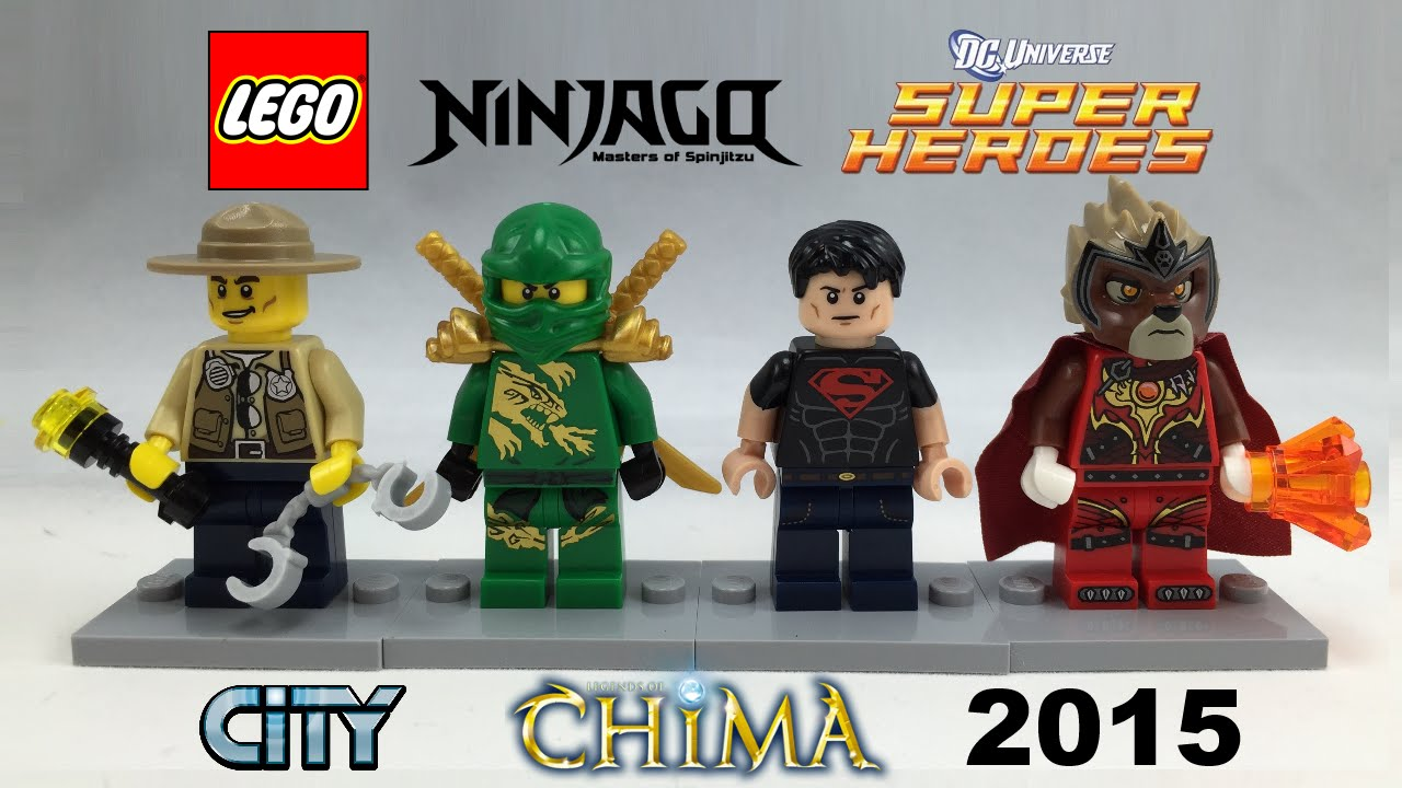 Lego Minifigure Gift Set 2015 Review Youtube
