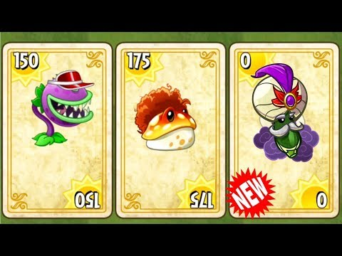 Every Endless Zone Plants vs Zombies 2 New Plants Gameplay All Worlds Challenge in PVZ 2