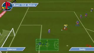 David Beckham Soccer (PS1 Gameplay)