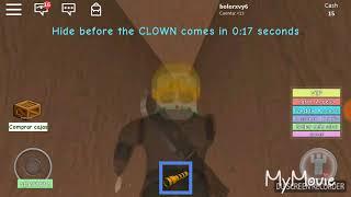 roblox clown escape