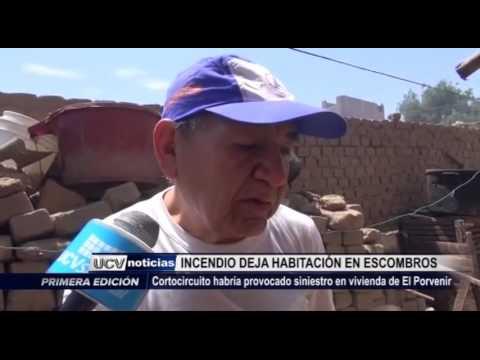 Trujillo: Cortocircuito provoca incendio en vivienda de El Porvenir