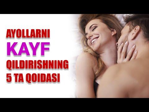 AYOLLARNI KAYF QILDIRISHNING 5 TA OLTIN QOIDASI