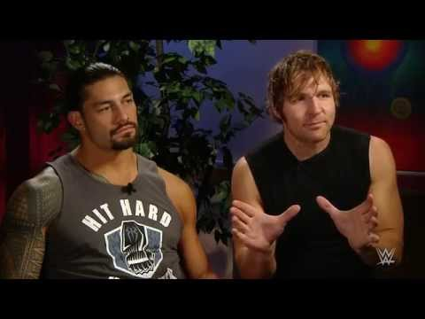 "Dean Ambrose & Roman Reigns prepare for ""war"" at SummerSlam:   Aug. 12, 2015"