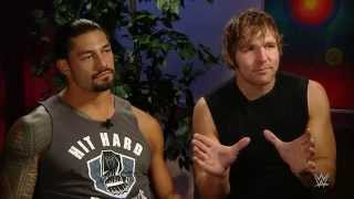 "Dean Ambrose & Roman Reigns prepare for ""war"" at SummerSlam: WWE.com Exclusive, Aug. 12, 2015"