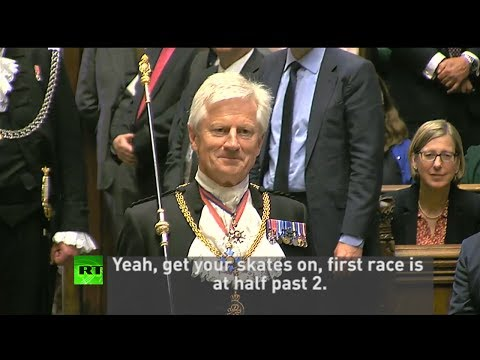 "Dennis Skinner: ""Get your skates on, race is at half past 2"""