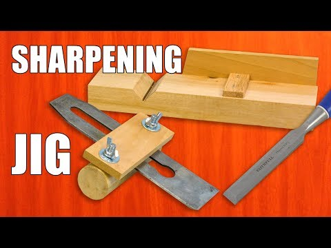 DIY Sharpening Jig for Chisels & Plane Blades