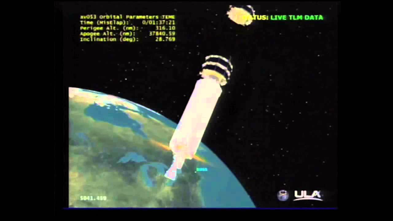 MMS Spacecraft Separation - YouTube