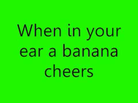 Charlie the Unicorn 2 - Put A Banana In Your Ear - Lyrics