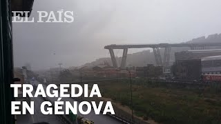 GÉNOVA | Se derrumba un gran puente de una autopista en Italia