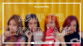 Download lagu (KARAOKE/CLEAN INSTRUMENTAL) BLACKPINK - AS IF IT'S YOUR LAST Easy Lyrics