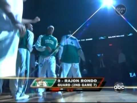 Boston Celtics 2008 NBA Playoffs Game 7 Introductions
