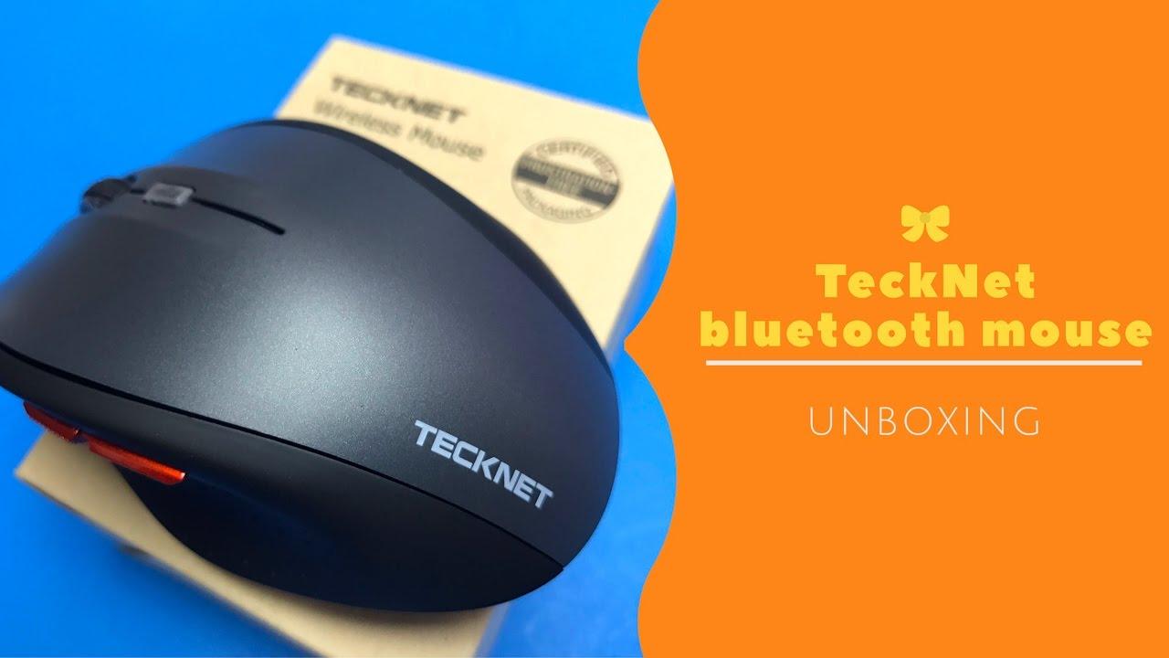 cfdd7585db8 TeckNet Bluetooth wireless mouse (BM306) unboxing - YouTube