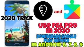 FGL Pro fixed | How to downgrade google play service and use FGL Pro in Pokemon go v0.109.2.