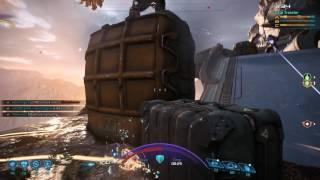 Asari Huntress Platinum Gameplay (Mass Effect Andromeda Multiplayer)