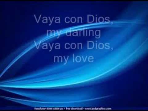 Vaya Con Dios - Freddie Fender LYRICS