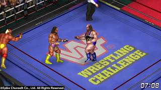 FIRE PRO WRESTLING WORLD PS4: Hogan/Savage vs. Warrior/Earthquake:  Arcade Randomness