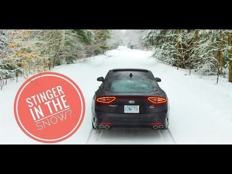 Kia Stinger GT: Can you Drive it in the Snow?