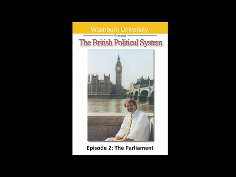 The British Political System: The Parliament