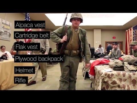 How to dress as a Korean War Marine re-enactor - YouTube