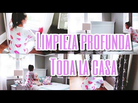 *NUEVO* LIMPIEZA PROFUNDA 2018 || TODA LA CASA || INSPÍRATE  CONMIGO 🎀