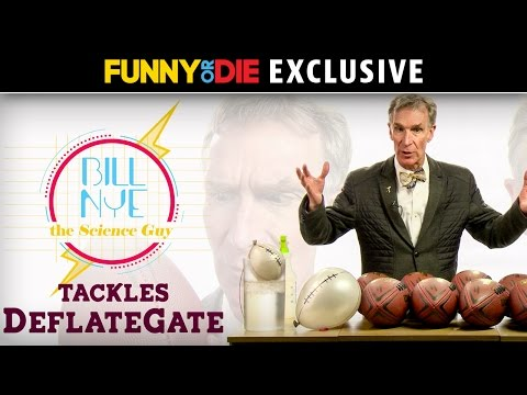 Bill Nye The Science Guy Tackles DeflateGate