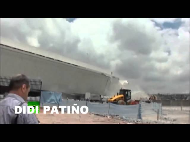 VIDEO DEL ACCIDENTE DEL ESTADIO DEL MUNDIAL DE FUTBOL BRASIL 2014 Videos De Viajes