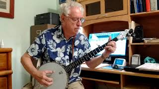 Take Me Home Country Roads--Bluegrass Banjo
