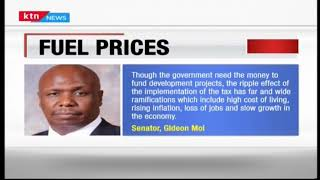 Gideon Moi decries the 16% VAT on petroleum products