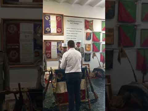 Remise de décret de naturalisation 2e Régiment Etranger d'Infanterie de Nîmes 2