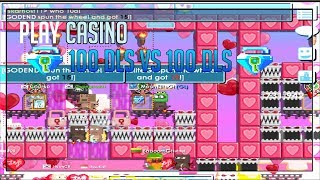 PLAY CASINO 100 DLS VS 100 DLS NOTCLIKBAIT!!! -GROWTOPIA
