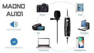 MAONO AU 101 Lavalier конденсаторный петличный микрофон