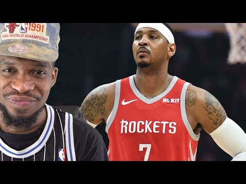 LETS TALK ABOUT CARMELO… 10MIN RANT ROCKETS vs PACERS HIGHLIGHTS