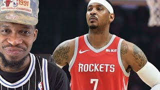 LETS TALK ABOUT CARMELO… (10MIN RANT) ROCKETS vs PACERS HIGHLIGHTS