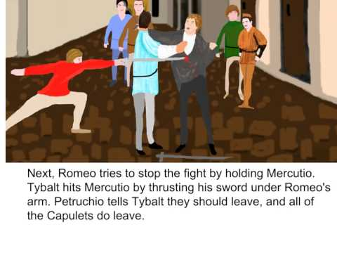 Romeo and Juliet - Act 3, Scene 1 Summary
